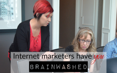Internet marketers have you BRAINWASHED