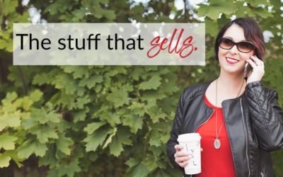 The stuff that sells (it's not what you think!)