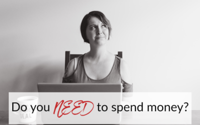Do you NEED to spend money? No. But here's why you should…